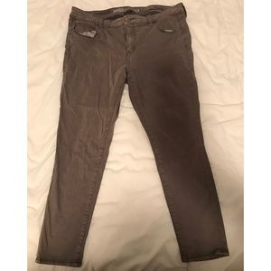 American Eagle sateen jegging